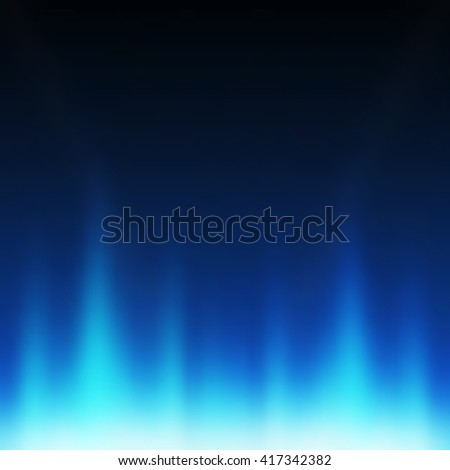 Abstract blue background, Technology background - Vector - stock vector