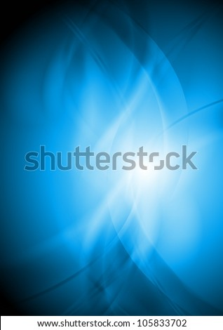 Abstract blue background. Vector eps 10 - stock vector