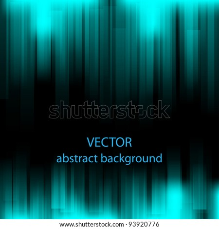 Abstract blue background.Vector eps10 - stock vector