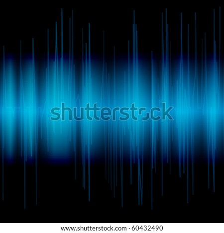 Abstract blue background. Vector eps10 illustration - stock vector