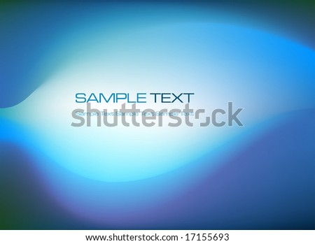 abstract blue background - vector illustration - stock vector