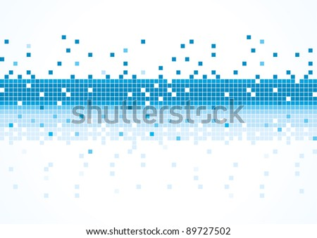 Abstract blue background. vector illustration - stock vector