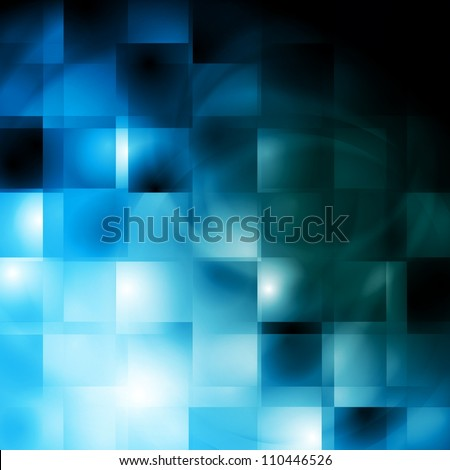 Abstract blue background. Vector illustration eps 10 - stock vector