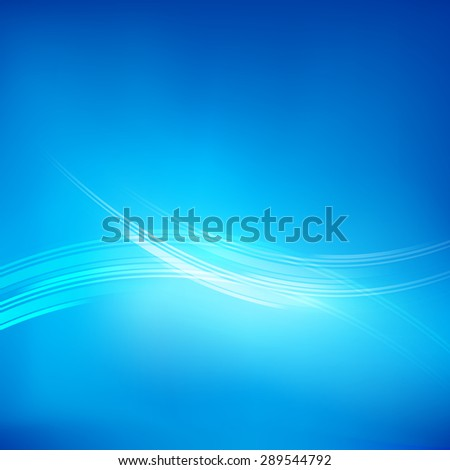 Abstract blue background vector illustration  eps10 - stock vector