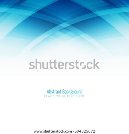 Abstract blue color modern background