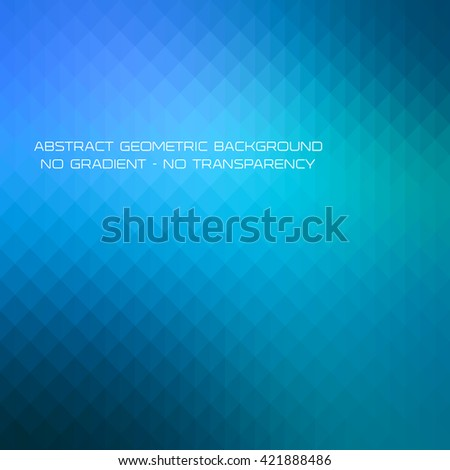 Abstract blue gradient art geometric background with soft color tone. Ideal for artistic concept works, cover designs. - stock vector