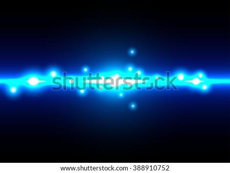 Abstract blue light background. illustration vector design - stock vector