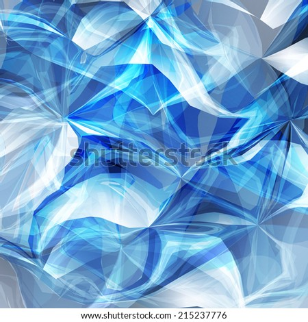 Abstract blue light energy vector background. EPS10 - stock vector