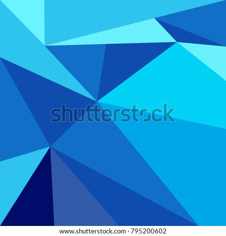 abstract blue polygon background design stock vector royalty free
