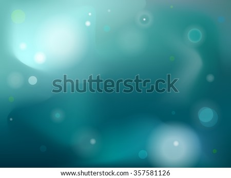 Abstract Blue Technology Background Vector Illustration.  - stock vector