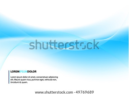abstract blue vector design