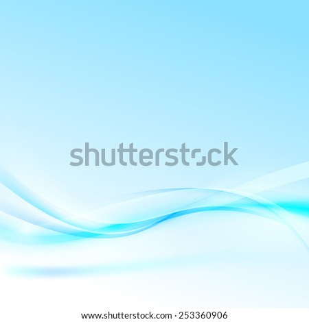 Abstract blue wave modern certificate background. Vector illustration