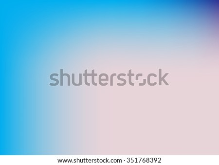 Abstract blurred background with neon pleasant colors,abstract white blue background, smooth gradient texture color, glowing website pattern, banner header or sidebar graphic art image - stock vector
