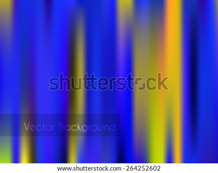 Abstract blurry wallpaper with many different colors. Vector version, raster file available in portfolio. - stock vector