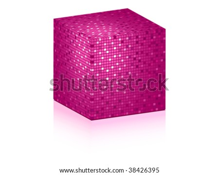 abstract box- vector illustration