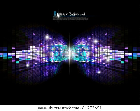 Abstract bright background.Vector. - stock vector