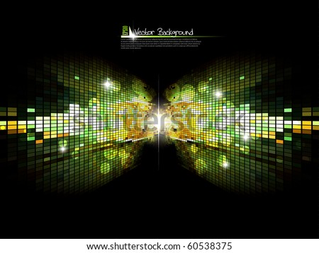 Abstract bright background.Vector. Visit my gallery for more. - stock vector