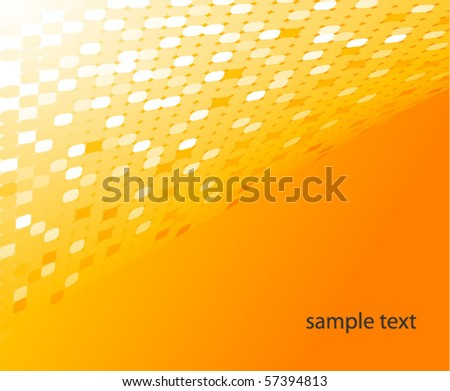 Abstract Fabric Bright Orange Celled Texture Stock Photo, Picture ...