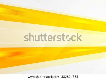 Abstract bright orange background. Vector design - stock vector