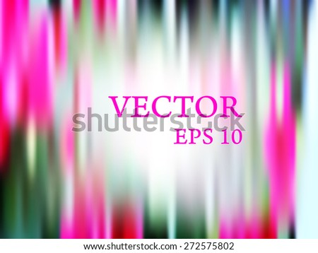 abstract brightly defocused background design - stock vector