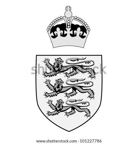 British Royal Symbol Abstract British Royal Symbol