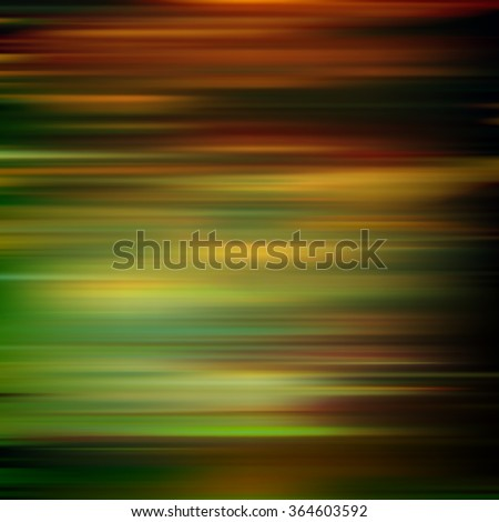abstract brown green motion blur background vector illustration - stock vector