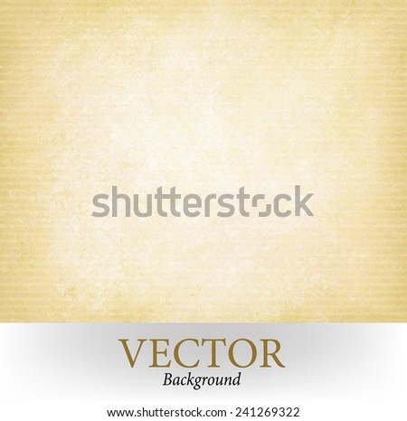 abstract brown yellow background vector - stock vector