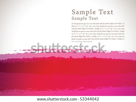 abstract brush background 01 - stock vector