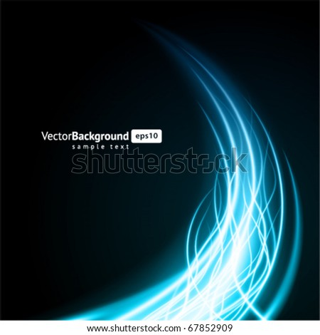 Abstract burn flame fire vector background - stock vector