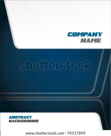 abstract business background design - stock vector