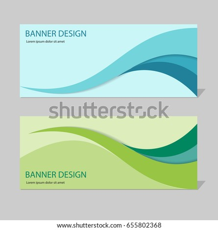 Abstract business background header template design stock vector abstract business background header template design set flashek Images