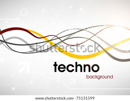 Abstract Business Background Vector - stock vector