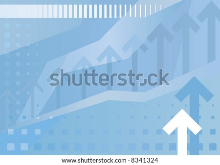 Abstract Business Background (vector). In the gallery also available XXL jpeg image made from this vector - stock vector