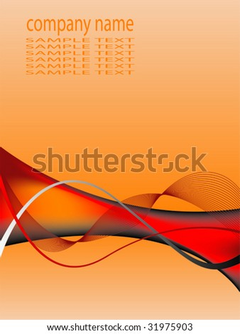 Abstract business background with space to include your own text - stock vector