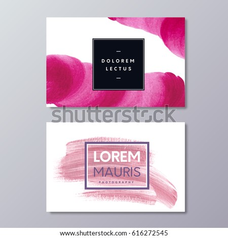 Abstract business card templates photography fashion stock vector abstract business card templates photography fashion stock vector 616272545 shutterstock cheaphphosting Images