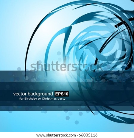 Abstract Business Corporate Background with Abstract Glowing motive - stock vector
