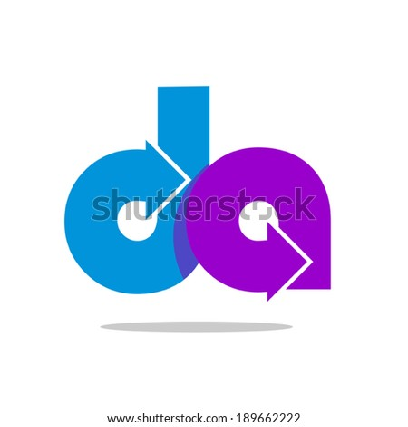 Abstract business icon - Isolated on white- Graphic Design Editable For Your Design - stock vector