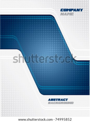 Abstract business science or technology background - stock vector