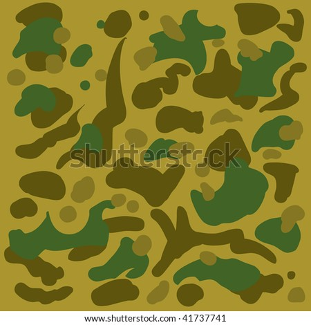 Abstract camouflage background