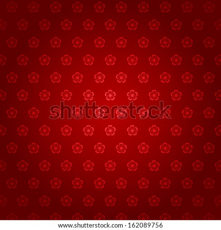 Abstract chinese new year background - seamless pattern - stock vector
