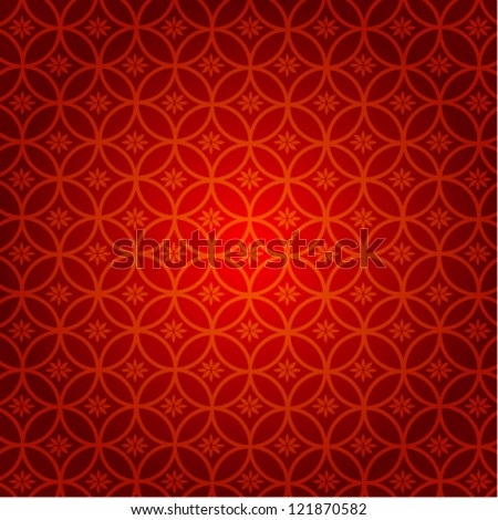 abstract chinese new year background vector design - stock vector