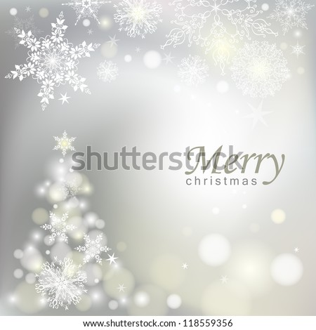 Abstract Christmas background. Vector eps 10. - stock vector