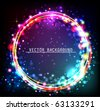 Abstract Circle Background. - stock vector