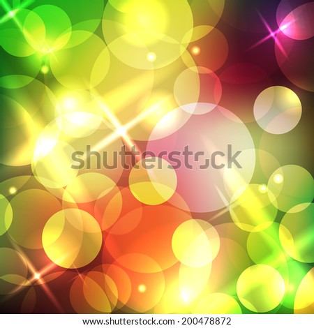 Abstract circle background. Vector illustration