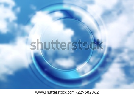 Abstract circle bright background. Vector design - stock vector