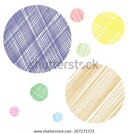 Abstract circles  - stock vector