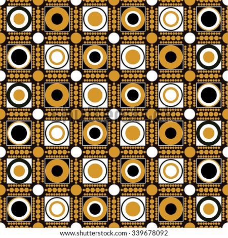 abstract circles vector pattern
