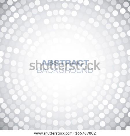 Abstract Circular Gray Background. Vector illustration    - stock vector