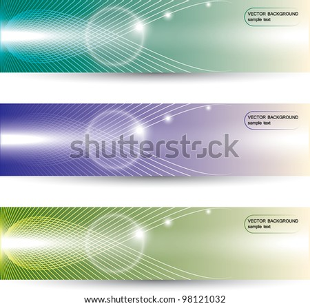abstract color background - stock vector