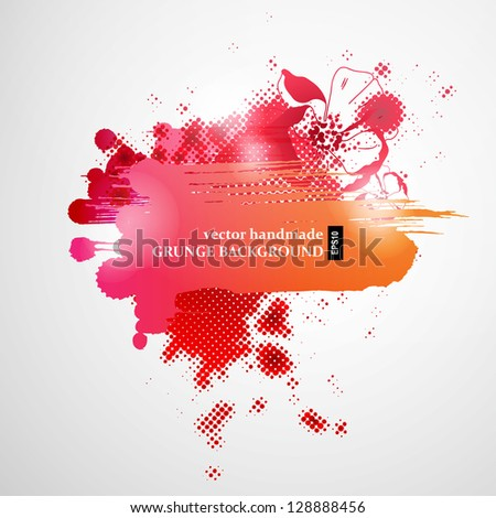 Abstract color Background for Business Brochure or Cover. EPS10.